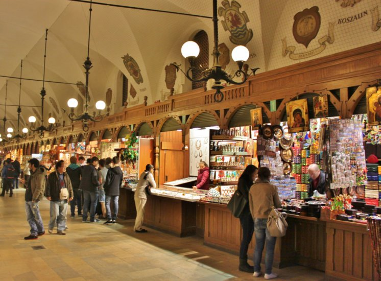 Cloth Hall Shopping Krakow