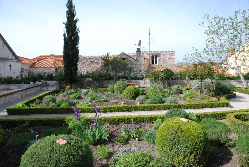 The Medieval Monastery Mediterranean Garden of St Sibenik