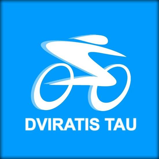 """Vaizdo rezultatas pagal užklausą """"dviratis tau logo"""""""