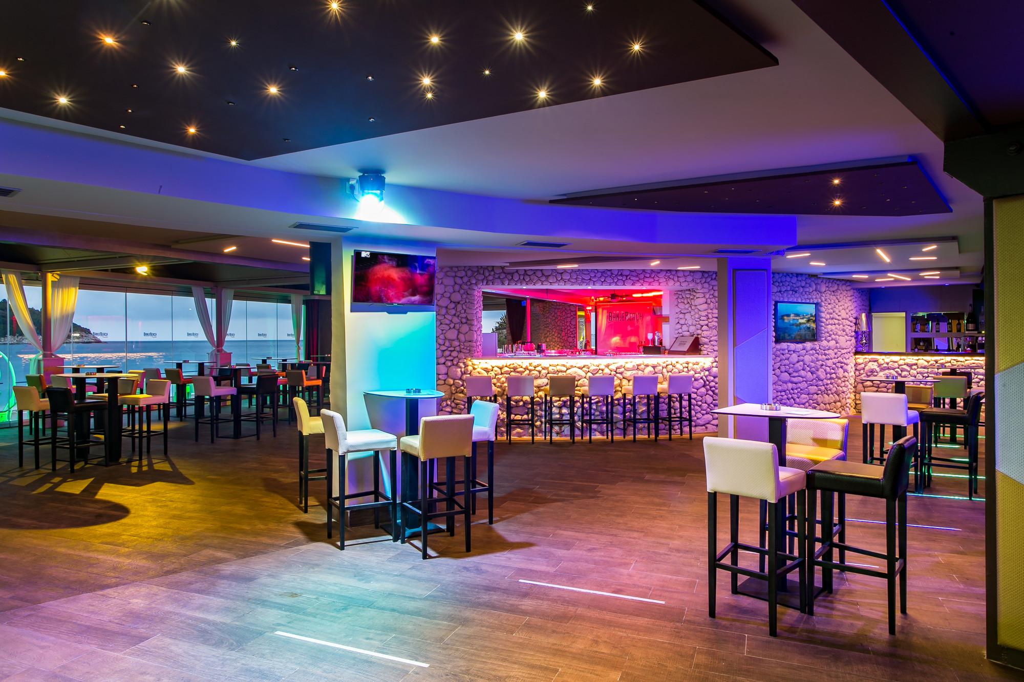 Banje Beach Night Club Nightlife Dubrovnik