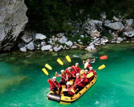 One day canyoning and rafting experience