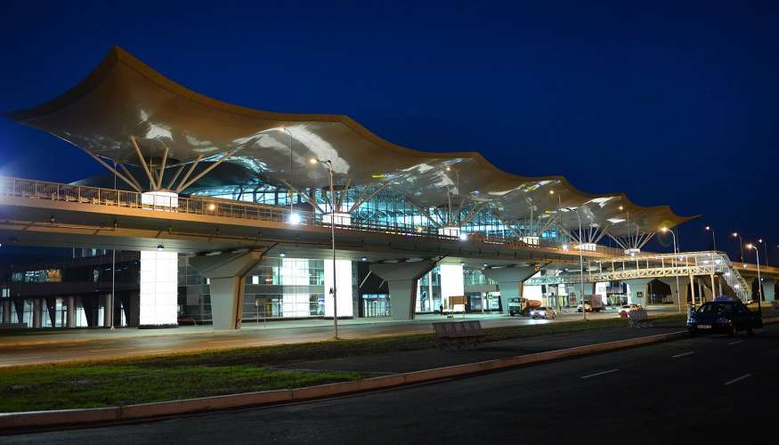 Boryspil State International Airport Arrival Amp Transport