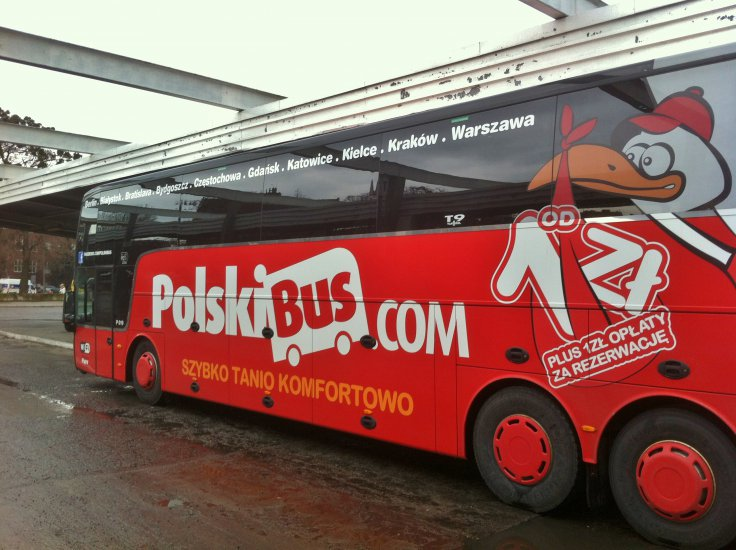 Polskibus Arrival Amp Transport In Wroclaw