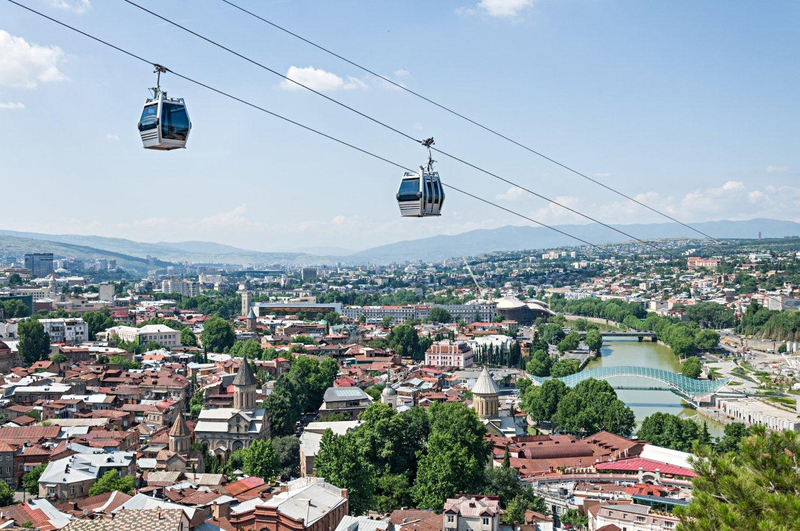 How To Buy A Car In Tbilisi Georgia: Aerial Cable Car