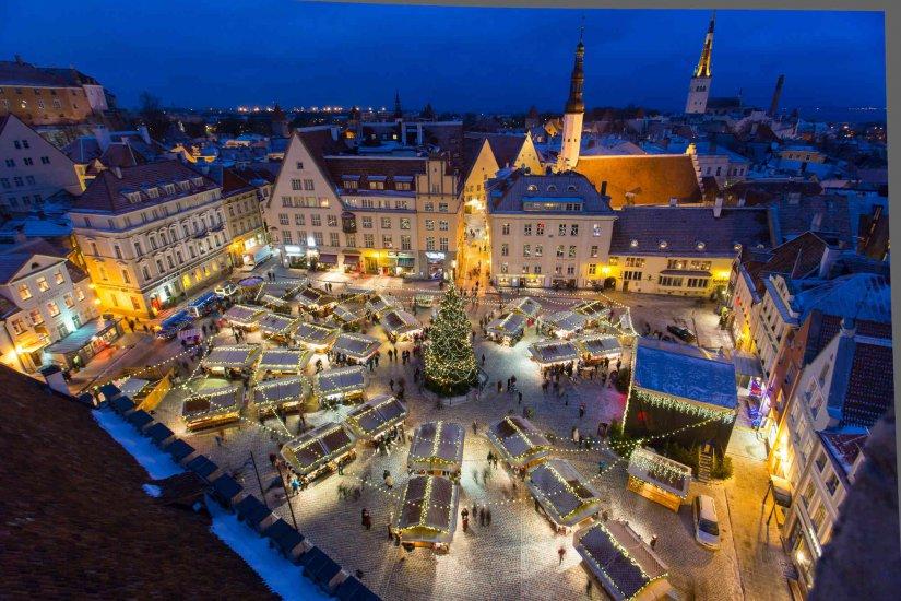 Christmas market culture amp events in tallinn