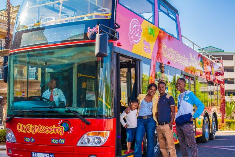 Johannesburg City Sightseeing Bus Getting Around Johannesburg