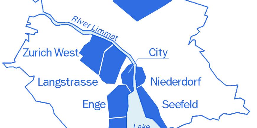 Zurichs districts