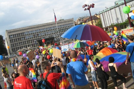 ... with many well-organised groups promoting gay rights and culture.